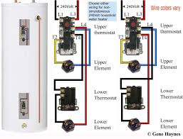 wiring diagram for hot water heater thermostat best new water heater rh eugrab com electric water heater circuit diagram water heater installation diagram