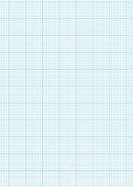 Graph Paper A4 Sheet Stock Vector Nicemonkey 3423621