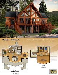 log home floor plans. Dakota Plan I Want To Live In This House!!! The Kitchen And Living · Log Cabin Home Floor Plans