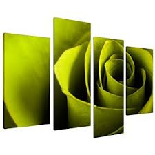 large lime green rose floral canvas wall art pictures prints xl 4110 on lime green wall art pictures with lime green flower floral canvas wall art pictures 130cm prints xl