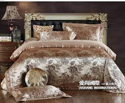2017 luxury jacquard satin cottonsilk queen king size bedding within luxury king size comforter sets ideas