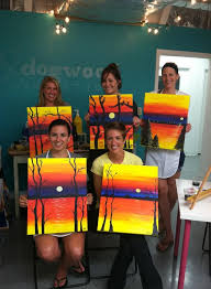 valerie s painting party to book a wine and painting party email robin dogwoodartstudio