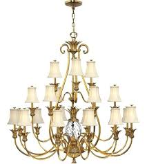 3 tier chandelier plantation light inch burnished brass foyer chandelier ceiling light 3 tier odeon crystal