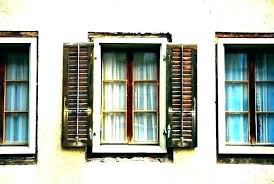 faux shutters exterior stunning wooden window wood cost rs