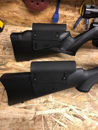 i designed and printed these for my 10 22 and savage b22 quick sanding and a coat of matte black 5 paint