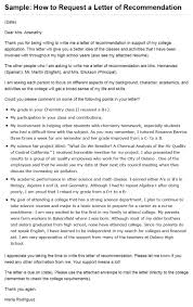 Ideas Of Sample Of A Teacher Recommendation Letter For College In