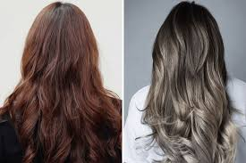how to tone brown hair to ash turn