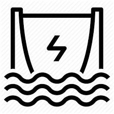 Power generator icon Fossil Fuel Fotoliacom Dam Energy Generator Hydro Hydroelectric Power Water Icon