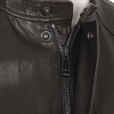 belstaff denim jacket dyed na leather moto black