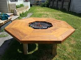 elegant fire pit barbecue table i have created an ice bucket outdoor korean bbq table