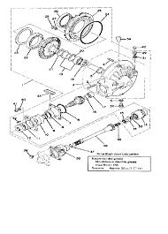 1978 yamaha xs1100 xs1100e final drive gear drive shaft parts rh bikebandit