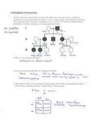 Creating A Pedigree Chart Worksheet 14 Rational Simple Pedigree Worksheet