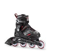 Roller Derby Boy S Tracer Adjustable Inline Skate Size Chart Bladerunner Boys Phoenix Black Red 1 4