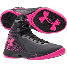 under armour basketball shoes girls. these under armour pink and black womens basketball shoes love them girls -