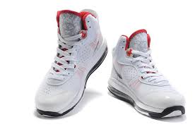 lebron 8 shoes. nike air max lebron viii 8 v2 white red black shoes