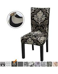 fuloon chair covers slipcovers stretch removable washable short dining chair protector cover seat for hotel