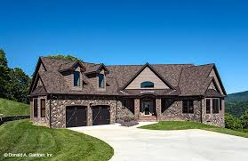 stone ranch home plans