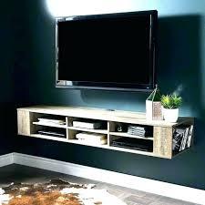 tv wall mount shelf hide mounts cable box shelves