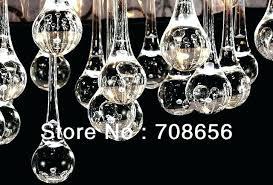teardrop crystal chandelier crystals parts brushed oak