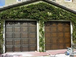 painted wood garage door. Modren Door Faux Garage Doors  To Painted Wood Door