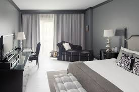 white room with black furniture. Image Of: Modern Light Grey Room White With Black Furniture