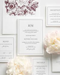 Sophisticated Floral Wedding Invitations Perfect In The Fall Or For Your Garden Fete