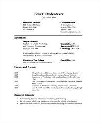 resume for undergraduate travel researcher sample resume podarki co