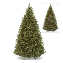 Pre Lit Christmas Tree With Colored And White Lights Amazon Com 7 5ft Pre Lit Fir 700 Light Hinged Artificial