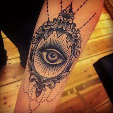Cool eye in the mirror tattoo TattooMagz