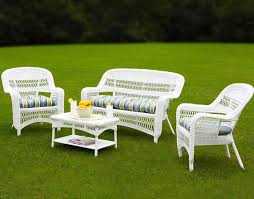 Cool White Wicker Patio Furniture White Outdoor Wicker Furniture 20 Sets To  Choose From
