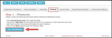 How To Create Project Milestones Accessoce