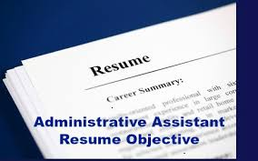 Administrative Objective For Resume New Administrative Assistant Resume Objective