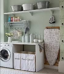 laundry room furniture. laundry room design with furniture storage photo