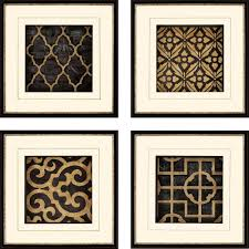 four framed metal wall art ebony floral abstract pinterest golden black colour pinterest strong amusing pictures on 4 piece metal wall decor with wall art captivating images of framed metal wall art metal wall