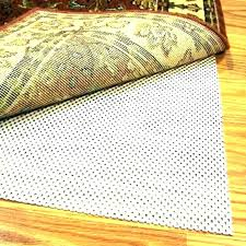 bed bath and beyond rug pad slip non skid regarding plans grid 4 x 6
