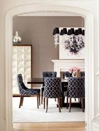 Patterned Dining Chairs Mesmerizing Black Fabric Dining Chairs Foter