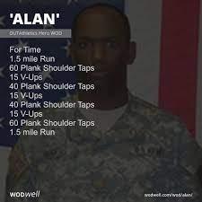 """Alan"""" Workout, CrossFit WOD   WODwell"""
