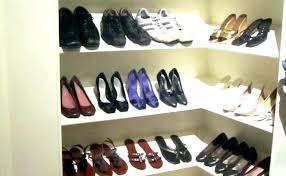 full size of closet shoe shelves diy shelf door organizer built in rack bathrooms awesome build