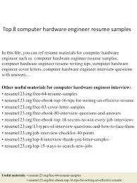 Engineering Internship Resume Sample Interesting Computer Engineering Resume Computer Engineering Computer Science