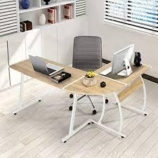word 39office desks workstations39and. GreenForest L-Shape Corner Computer Office Desk PC Laptop Table Workstation  Home 3- Word 39office Desks Workstations39and Amazon.com