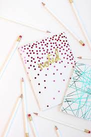 image decorate. Diy-foil-notebook Image Decorate