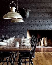 painting brick black
