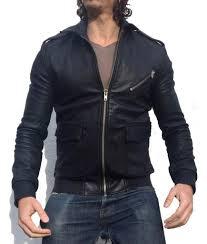 superdry er harrington flight er leather jacket black xo1 rrp mens black superdry coats superdry hoos xs huge inventory