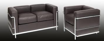 Corbusier designed Sofa LC 22   steelform design classics