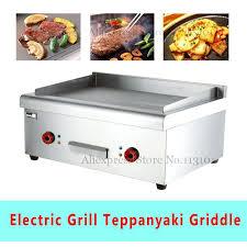 countertop electric grill electric griddle upgraded stainless steel pancake baking grills griddles flat plate countertop electric grill