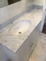 20mm carrara marble vanity top cistern top with upstand marble and granite