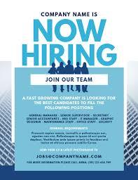Flyer Jobs Job Vacancy Flyer Template Postermywall