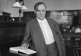 Anwalt Clarence Darrow, legendärer Verteidiger der Verdammten