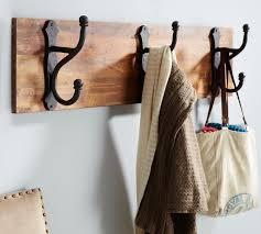 Row Of Hooks Coat Rack Overscaled Row Of Hooks Traditional Wall Hooks Pottery Barn Coat 22