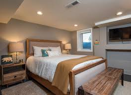 basement bedroom design. Contemporary Bedroom Beautiful Basement Bedroom Inside Design L